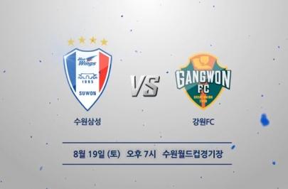 2017.08.19 K리그 클래식 27R 수원 vs 강원 하이라이트