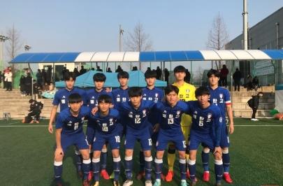 [꿈나무축구대회] '강현묵 결승골' 수원U-18, 통진고 꺾고 4강 진출!